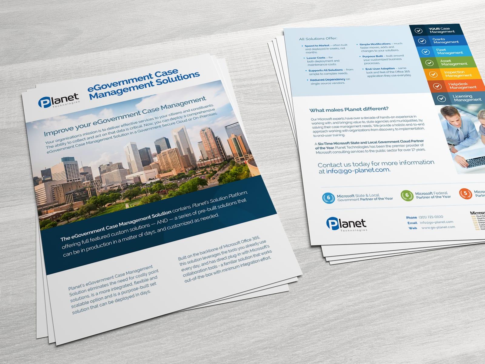 Datasheets & Brochures
